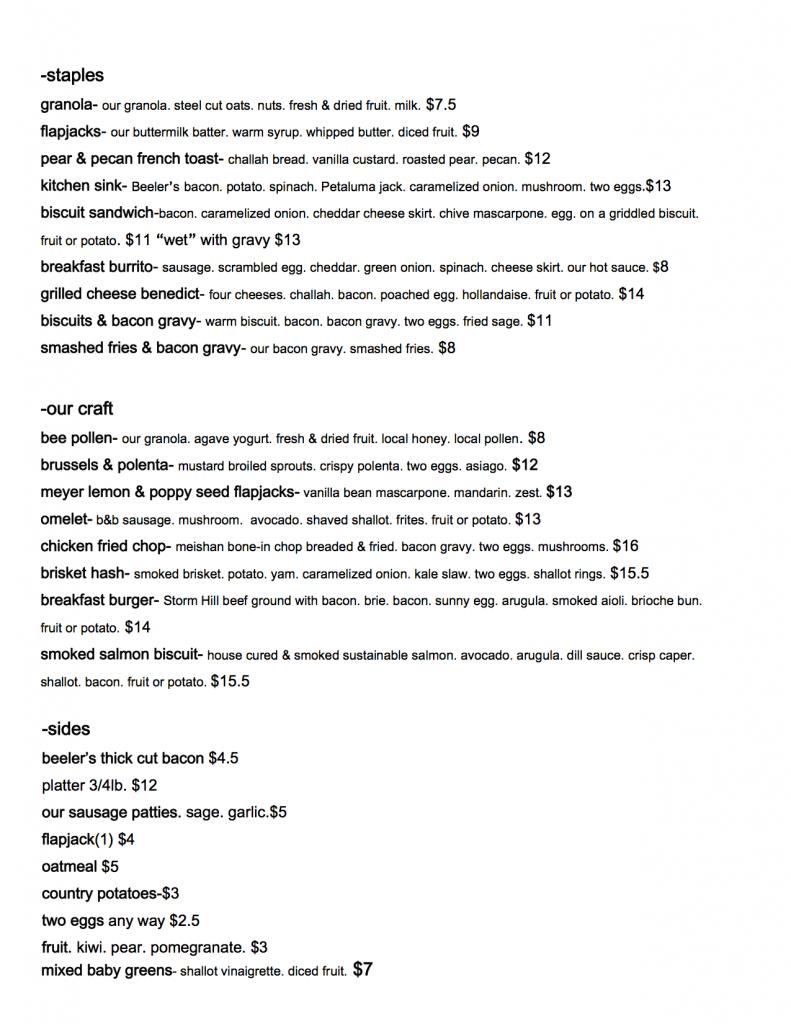 11-22 menu